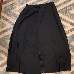 Loft Silk Maxi Skirt NWT